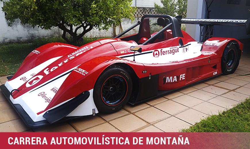 Jaime Carbonell segundo en la Carrera Automovilística de Montaña